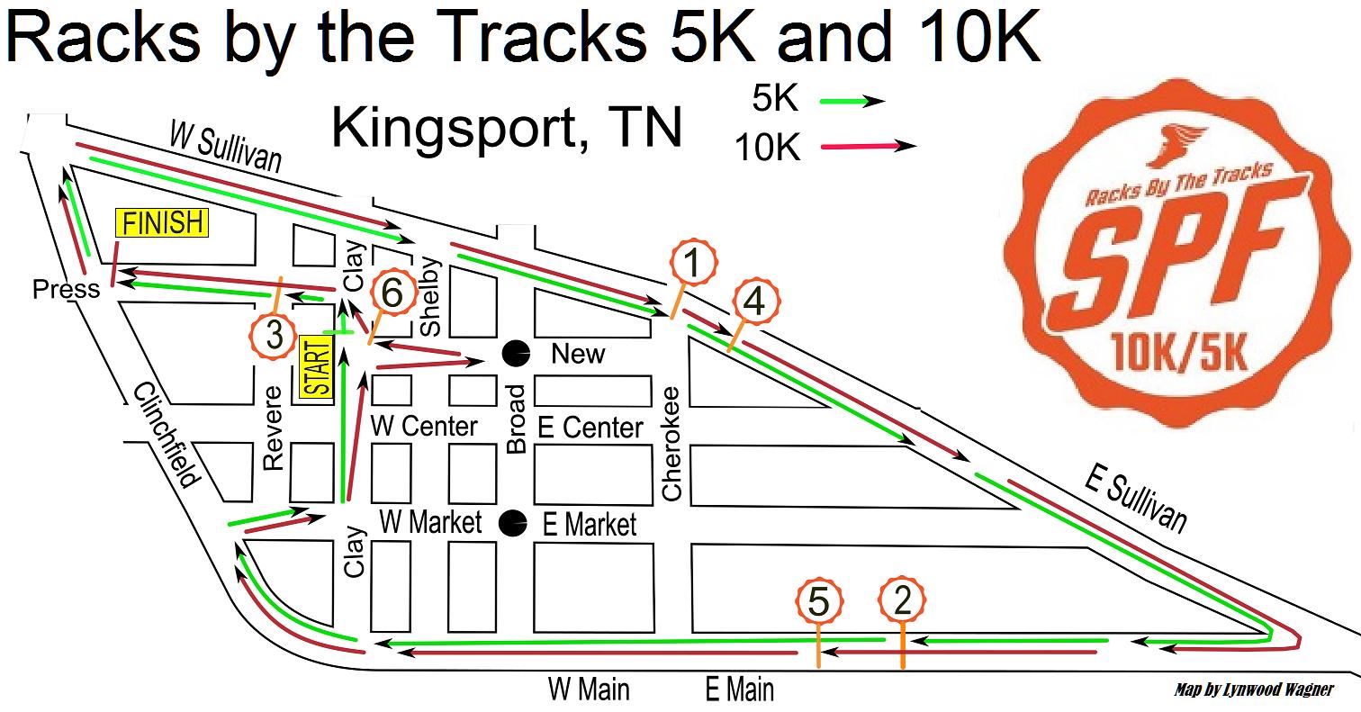 5k race course map 10k race course map