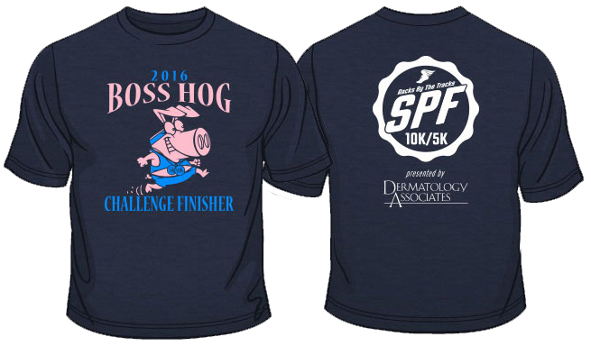 Boss Hog T-Shirt Front & Back